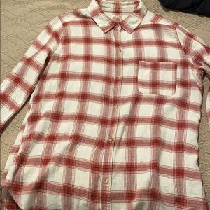 Long Flannel shirt